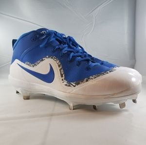 NIKE FORCE AIR TROUT 4 MID BASEBALL CLEATS 11.5